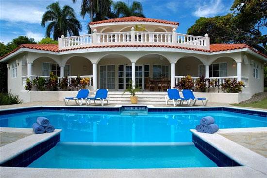 Dominican republic map monde google maps of europe for 5 star villas